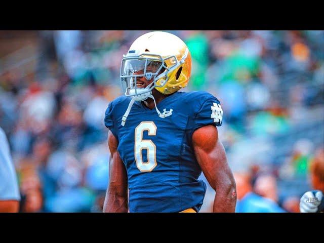 Best LB in College Football 🍀 || Notre Dame LB Jeremiah Owusu-Koramoah Highlights 🍀 ᴴᴰ