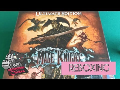 Mage Knight Ultimate Edition REBOXING! - Recensioni di Chiara