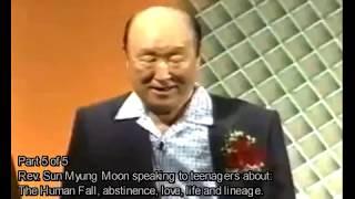 Любовь, жизнь и родословие - преп. Мун Сон Мен , 4 июля 2002 года, 5 часть