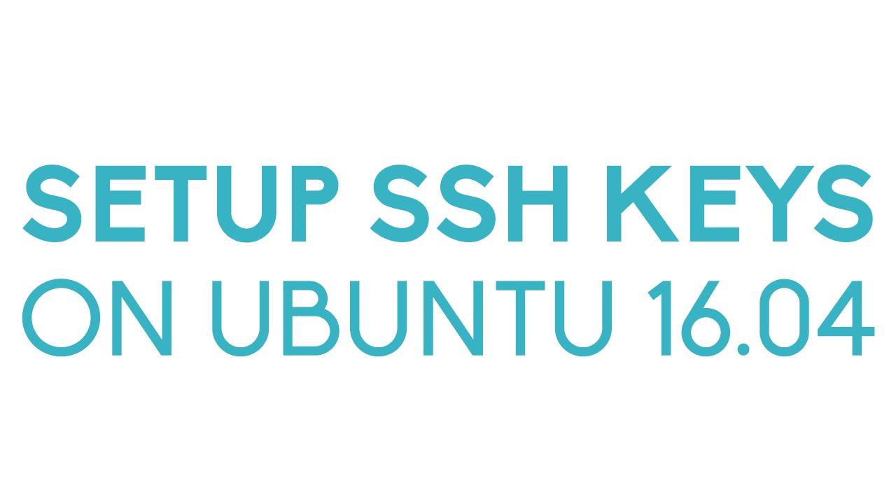 create ssh key ubuntu