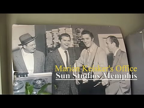 Download Marion Keiskers office at Sun Studios where Elvis Presley was discovered by Sam Phillips (video)