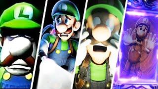 Evolution of Luigi's Mansion Deaths & Game Over Screens (2001-2021)