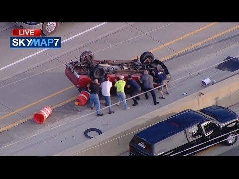 Tony Mott - Good Samaritans Flip Truck, Rescue Driver After Rollover Crash