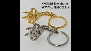 Oilfield Elevator Keychains Gifts JHM#115