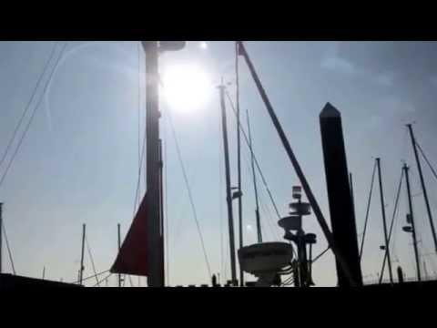 Cruising Yacht Koru: and The Red Arrows over Elizabeth Marina Jersey