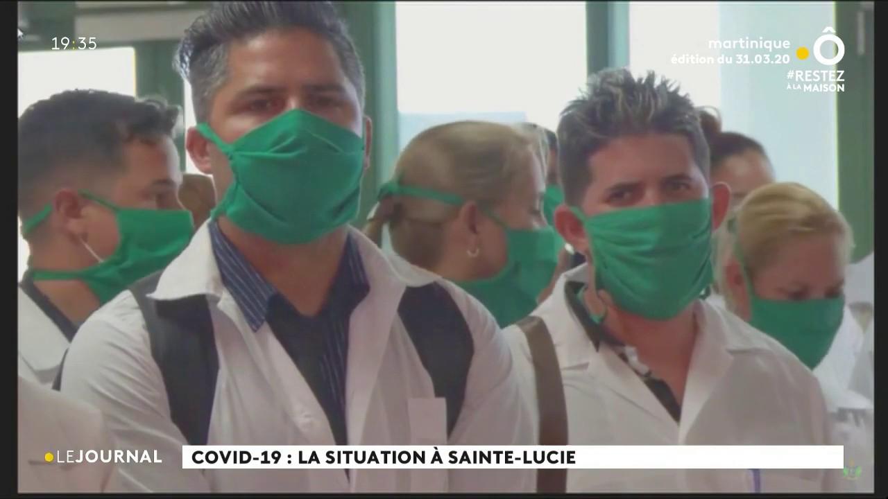 Coronavirus à Sainte-Lucie :  couvre-feu complet de 24 heures