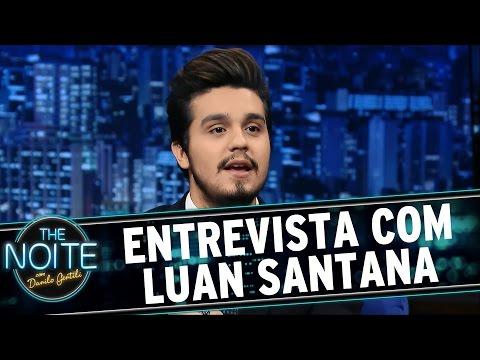 The Noite (21/05/15) - Entrevista com Luan Santana