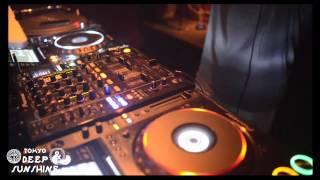 DJ SHINKAWA @ #9 DEEP & SUNSHINE TOKYO,4th July 2015,R Lounge TOKYO
