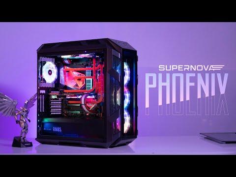 Super Nova Phoenix   Phượng hoàng khởi nguyên - GEARVN PC Custom 120 triệu đồng