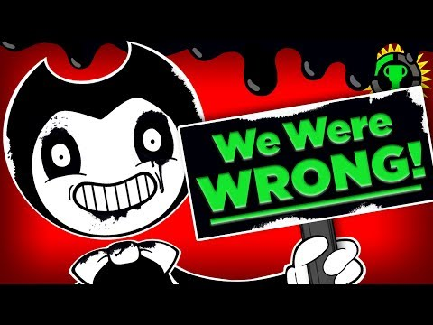 Game Theory: We Were TOTALLY WRONG! What Bendy's Ending REALLY Meant (Bendy and the Ink Machine)