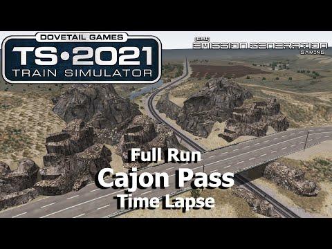 Cajon Pass - Time Lapse - Train Simulator 2021 |