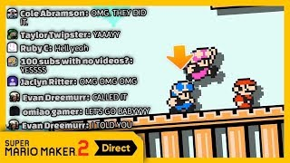 THEY ACTUALLY ADDED MULTIPLAYER! (Super Mario Maker 2 Reaction)