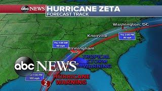 Download lagu Hurricane Zeta racing toward Gulf Coast