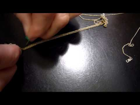 How to Untangle Gold Chains - Calla Gold Jewelry