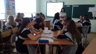 Фрагмент урока технологии в 8б классе МАОУ СОШ №5 г. Ишима