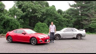 Scion FR-S vs. Nissan Skyline GT-R: Would You Rather?