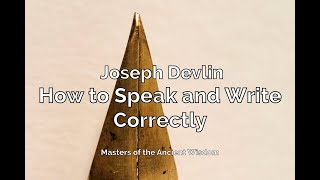 How to Speak and Write Correctly Audiobook Chapter 1