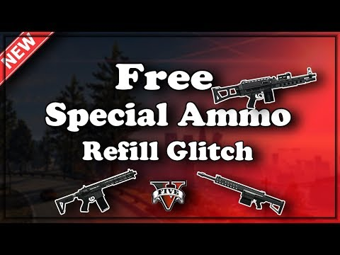 GTA5 Glitches I *NEW* Free Special Ammo Refill Glitch! (Patch 1.42) All Special Weapons!