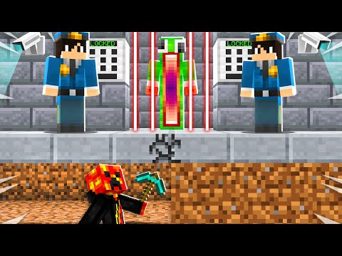 Saving Unspeakable from Most Secure Prison!  Minecraft