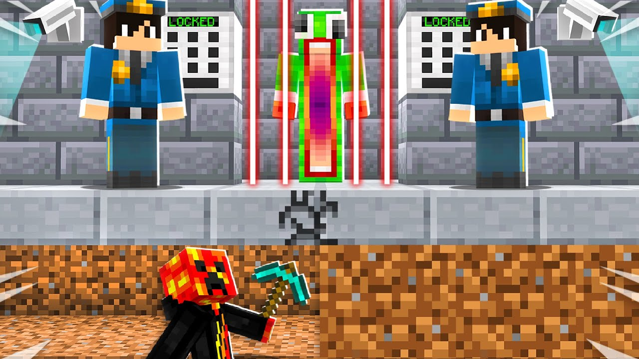 Saving Unspeakable from Most Secure Prison! - Minecraft