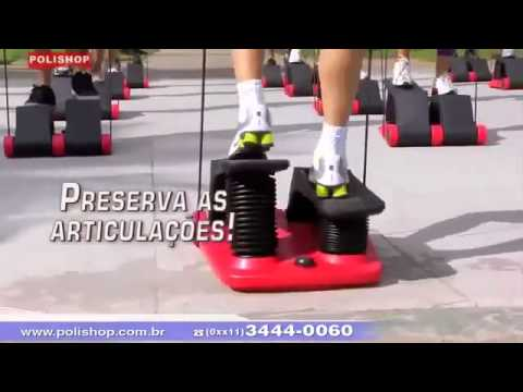 Exercicios Com Air Climber Polishop Youtube