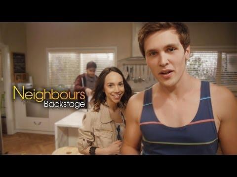 Neighbours Backstage: Harley Bonner Josh Willis Part 1