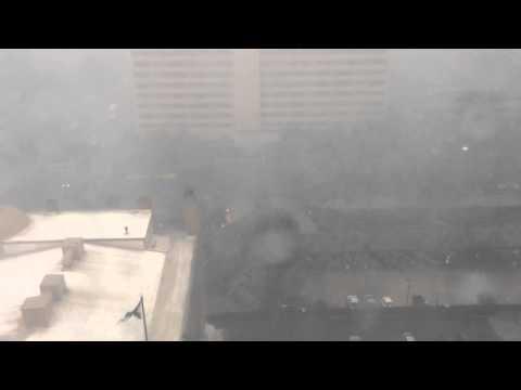 Heavy rain and hail, downtown Denver Mp3