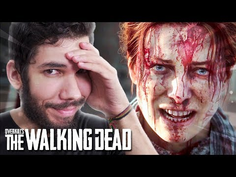 OVERKILL'S THE WALKING DEAD - GAMEPLAY DESANIMOU BASTANTE!? || O JOGO É RUIM?