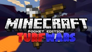 Minecraft PE Turf Wars Minigame - MCPE 0.15.1 Multiplayer Server (Pocket Edition)