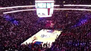 76ers Intro vs Thunder 10/26/16