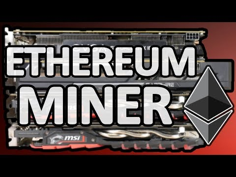 How To Build An Ethereum Mining Rig: More Profitable Than Bitcoin Mining