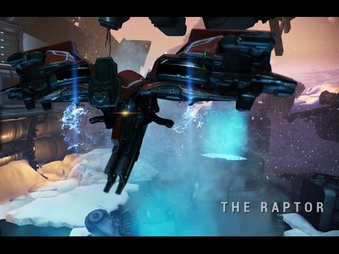 Warframe - Europa Boss Fight: Raptor (Solo)