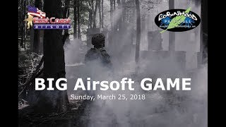 East Coast Airsoft Presents: BIG Airsoft GAME 2018 - Maryland Airsoft OP