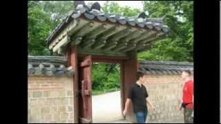 Визит в Корею на обучение боевым искусствам в 2010 году