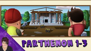 Parthenon in Progress 1-3 - Summer Builder 2 - Diggy