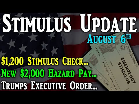 2nd Stimulus Check Update: New $2,000 Hazard Pay | $1,200 ...