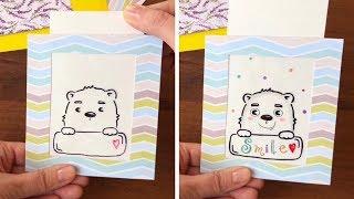 DIY MAGIC CARD.Magic greeting card/ hidden message
