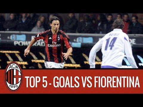 AC milan Top Goals scored vs Fiorentina at San Siro