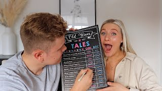 PREDICTING OUR BABY'S GENDER... | James and Carys