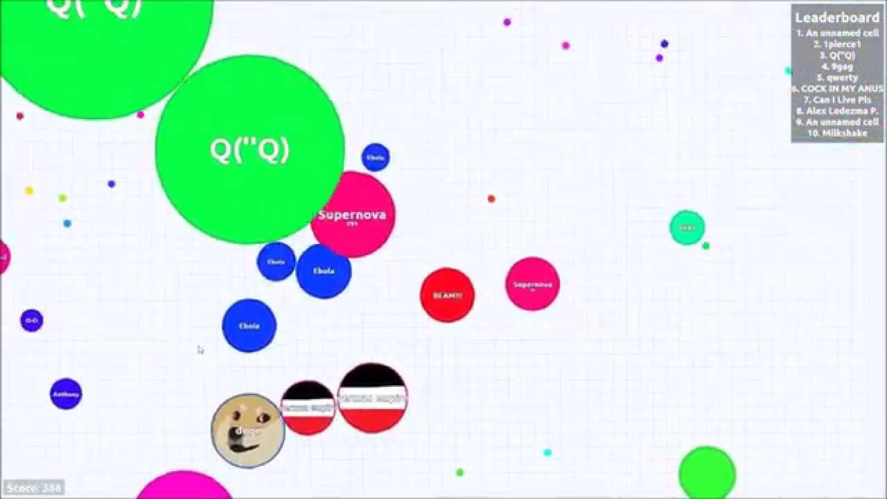 how to play agario with friends in ffa