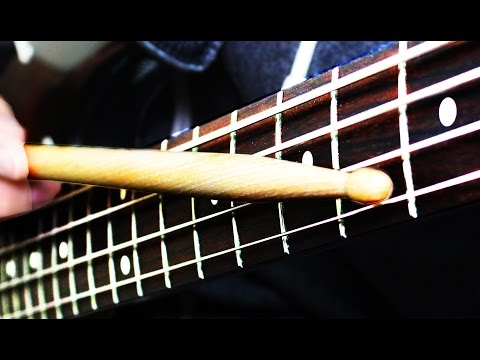 Download Youtube: DRUMSTICKS BASS SOLO