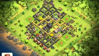Clash of clans- lets play ep.#8- replay of a retard, and re
