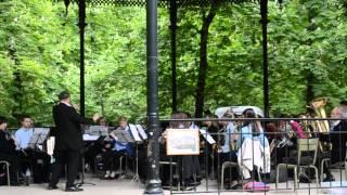 Concierto en los Jardines de Luxemburgo en París