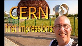 first impressions at CERN at high school teacher program