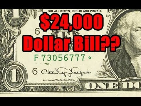 Error Star Note Dollar Bill Sells For $24,000! - Search Your Paper Money For This Amazing Find!