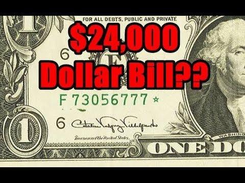 Error Star Note Dollar Bill Sells For 24000