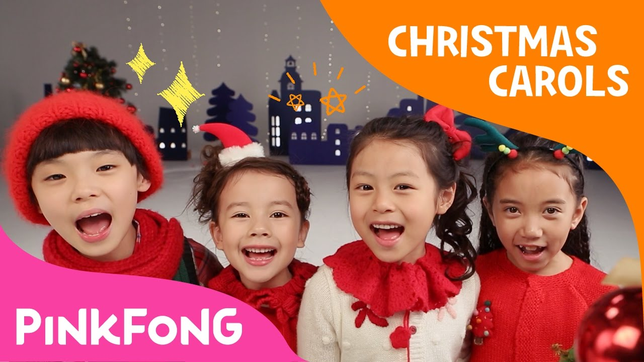 Christmas Caroling.We Wish You A Merry Christmas Sing And Dance Christmas Carols Pinkfong Songs For Children