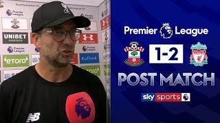 """The mentality giants were in town"" 