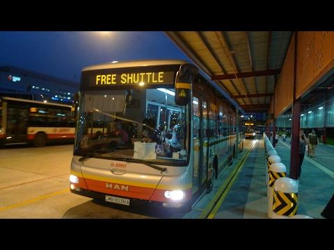 SMRT MRT Free Shuttle, SMB1521S (Full Trip)