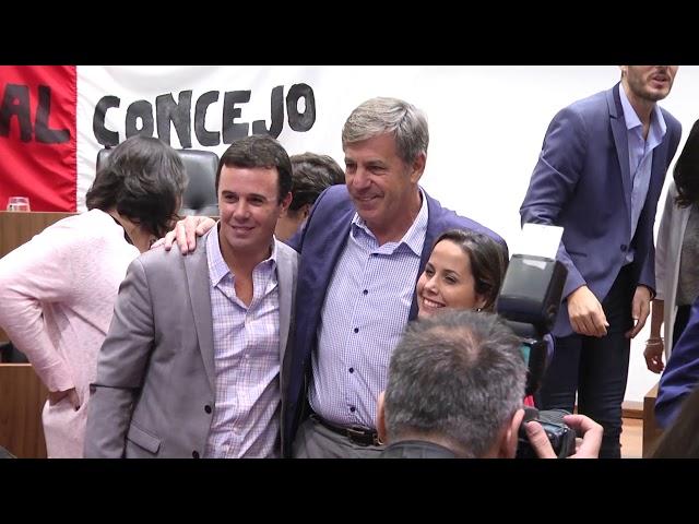 Emilio Jatón renunció a su banca en el Concejo para asumir como intendente